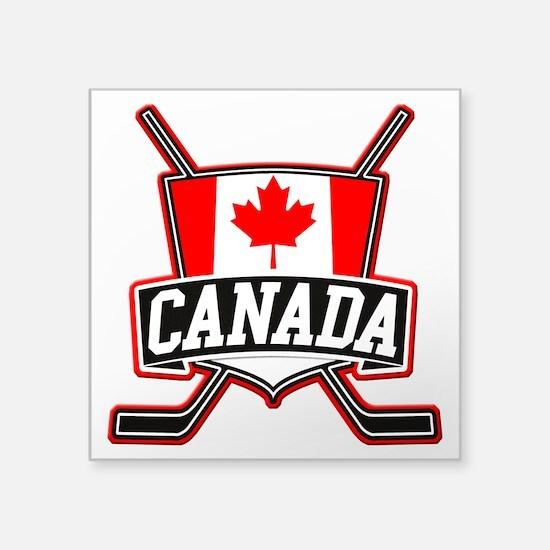 Canadian Hockey Shield Logo Sticker