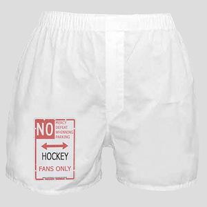 No Mercy Hockey Boxer Shorts