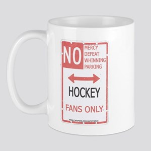 No Mercy Hockey Mug