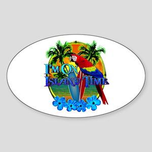 Island Time Surfing Sticker