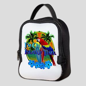 Island Time Surfing Neoprene Lunch Bag