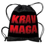Krav Maga Drawstring Bag
