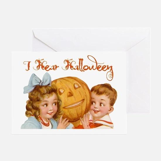 I hear Halloween Greeting Card