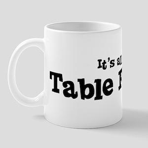 All about Table Football Mug