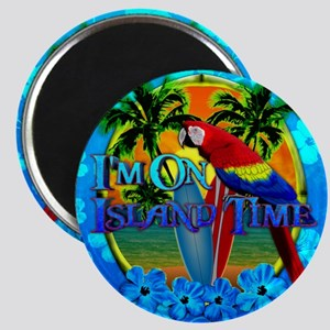 Island Time Surfing Honu Magnet