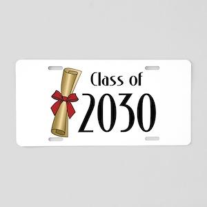 Class of 2030 Diploma Aluminum License Plate