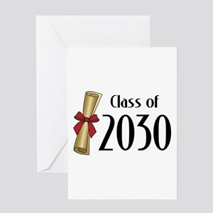 Class of 2030 Diploma Greeting Card