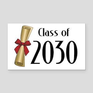 Class of 2030 Diploma Rectangle Car Magnet