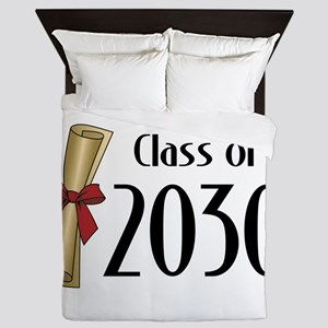 Class of 2030 Diploma Queen Duvet