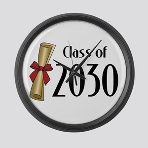Class of 2030 Diploma Large Wall Clock