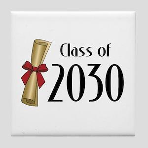 Class of 2030 Diploma Tile Coaster