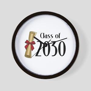 Class of 2030 Diploma Wall Clock