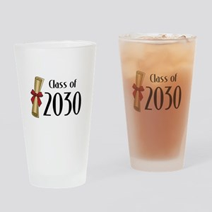 Class of 2030 Diploma Drinking Glass