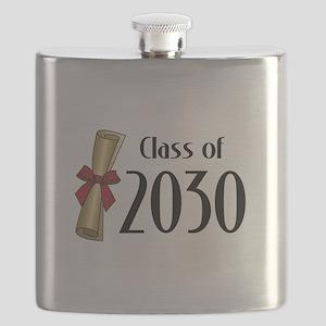 Class of 2030 Diploma Flask