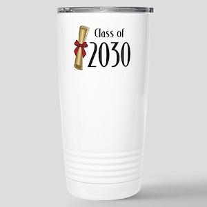 Class of 2030 Diploma Stainless Steel Travel Mug