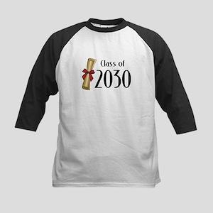 Class of 2030 Diploma Kids Baseball Jersey