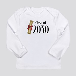 Class of 2030 Diploma Long Sleeve Infant T-Shirt