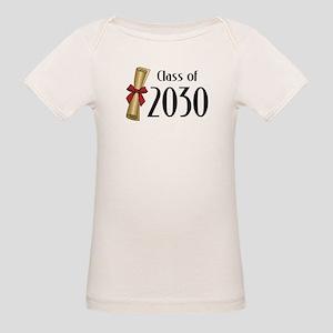 Class of 2030 Diploma Organic Baby T-Shirt