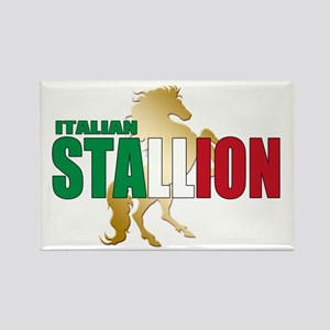 Italian Stallion Rectangle Magnet