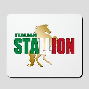 Italian Stallion Mousepad