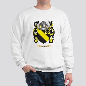 Isaacs Coat of Arms (Family Crest) Sweatshirt
