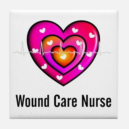 Wound Care Nurse Tile Coaster