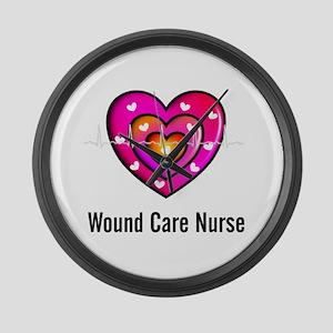Wound Care Nurse Large Wall Clock