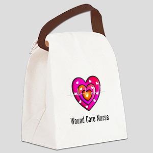 Wound Care Nurse Canvas Lunch Bag