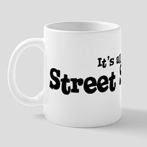 All about Street Skating Mug