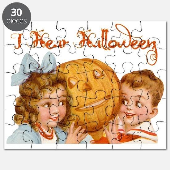I hear Halloween Puzzle