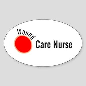 Wound Care Nurse Wound Darks Sticker
