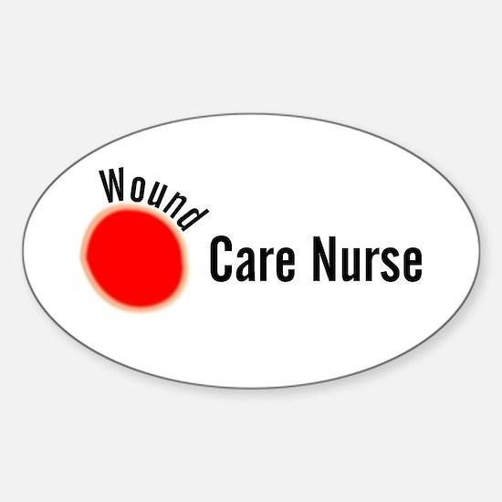 Wound Care Nurse Wound Darks Decal