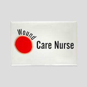 Wound Care Nurse Wound Darks Rectangle Magnet