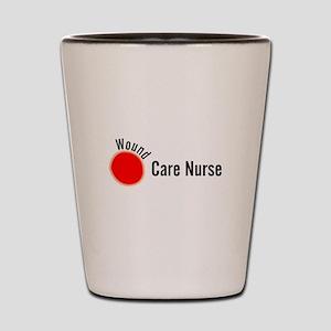 Wound Care Nurse Wound Darks Shot Glass