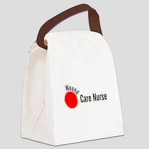 Wound Care Nurse Wound Darks Canvas Lunch Bag