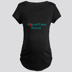 Wound Care Nurse Maternity T-Shirt
