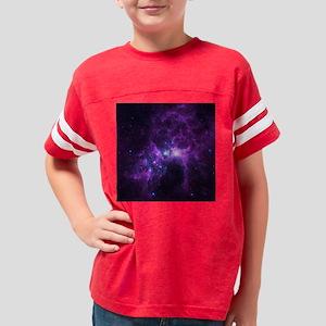 Purple Galaxy Youth Football Shirt
