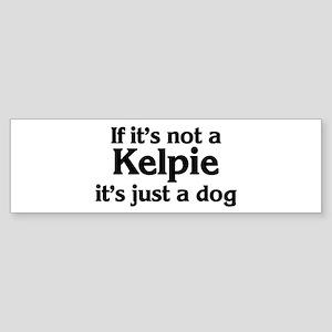 Kelpie: If it's not Bumper Sticker