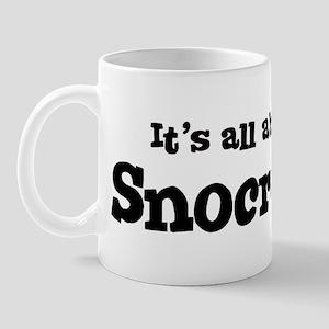 All about Snocross Mug