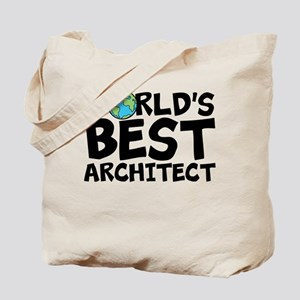 World's Best Architect Tote Bag