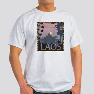 Vintage Laos Ash Grey T-Shirt