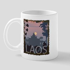 Vintage Laos Mug