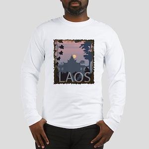 Vintage Laos Long Sleeve T-Shirt