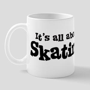All about Skating Mug