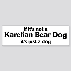 Karelian Bear Dog: If it's no Bumper Sticker