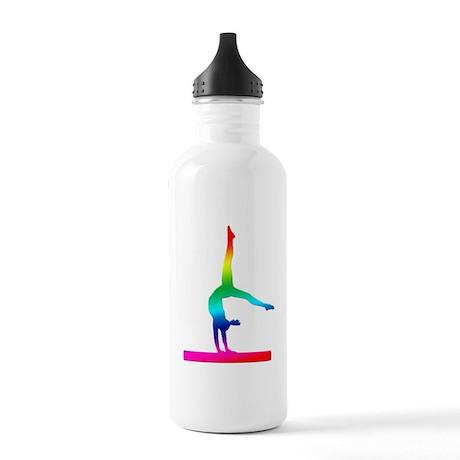 Flip Flop Rainbow Gymnast Water Bottle