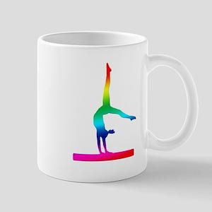 Flip Flop Rainbow Gymnast Mug