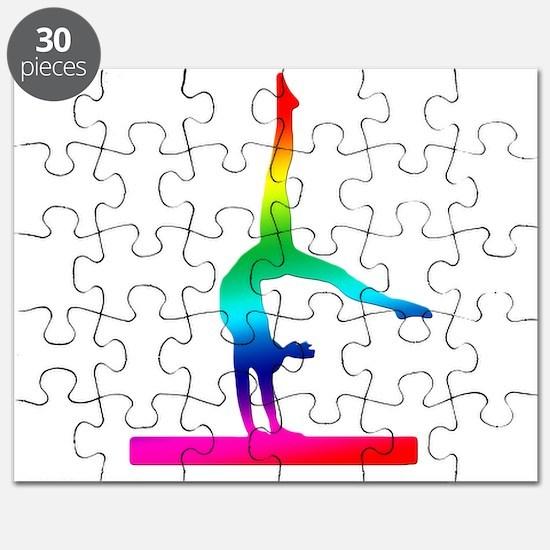 Flip Flop Rainbow Gymnast Puzzle