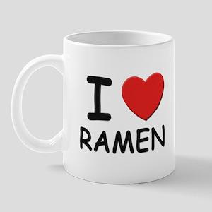 I love ramen Mug