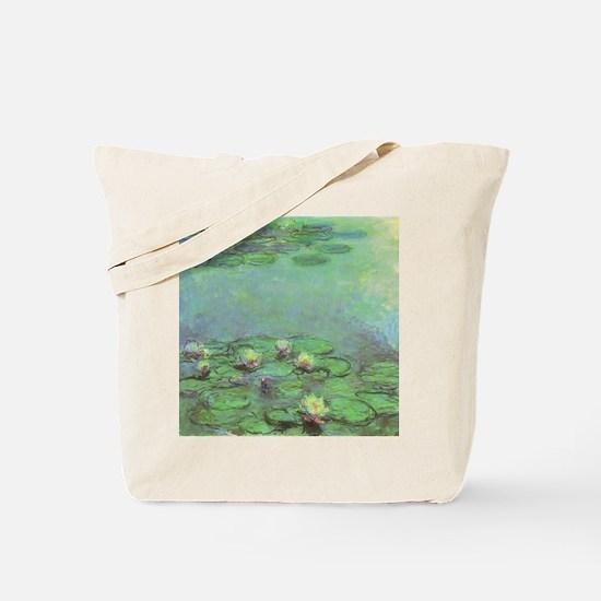 Waterlilies by Claude Monet Tote Bag